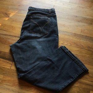 Venezia boot cut jeans, size 18P